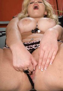 Blonde Lady Mature