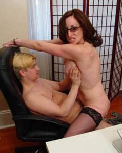 Boning My Mature Teacher Porno