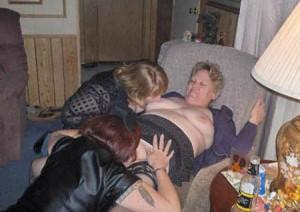 Big Lesbian Mature Tit